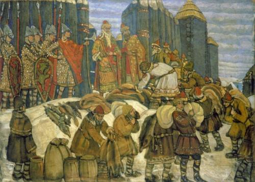 социально экономическое и политическое развитие древней руси
