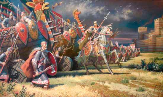 Поход Олега на Константинополь