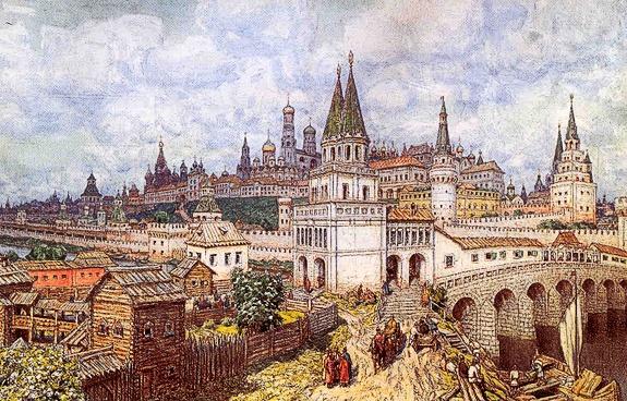 Колокольня ивана великого величайший памятник русской архитектуры московского кремля 16 века