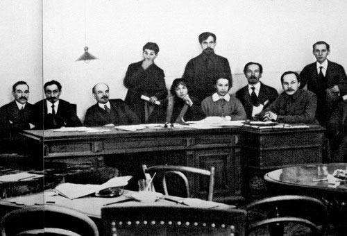 Коллонтай, Ленин, Сталин