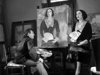 Марк Шагал и его жена Белла