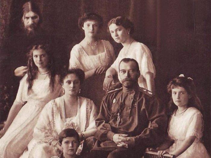Распутин и царская семья