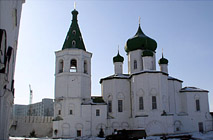 Тюмень Свято-Троицкий мужской монастырь