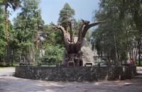 Новосибирск скульптура Змей Горыныч