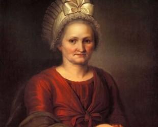 Венецианов портрет матери