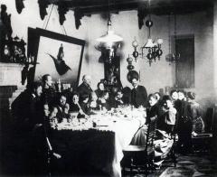 Савва Мамонтов с художниками