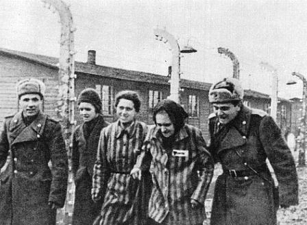 освобождение Освенцима советской армией