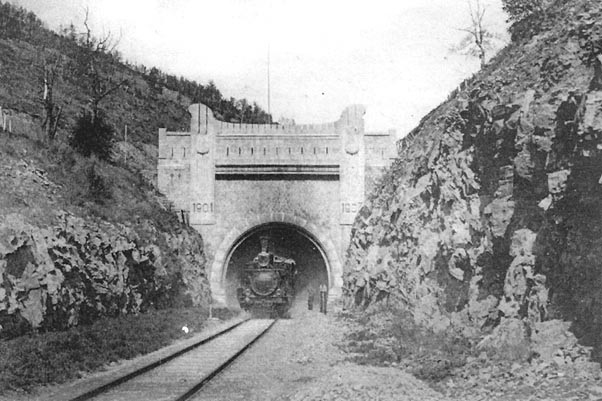КВЖД Хинганский тоннель