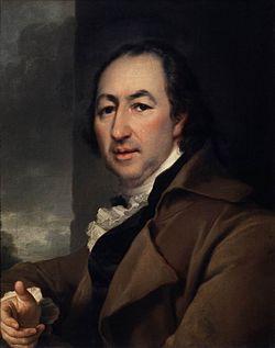 Левицкий портрет Новикова
