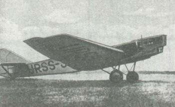 бомбардировщик ТБ-1