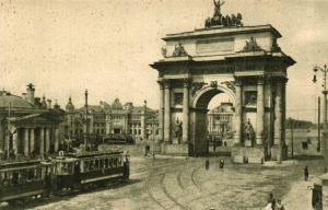 Триумфальная арка в Москве на Тверской заставе