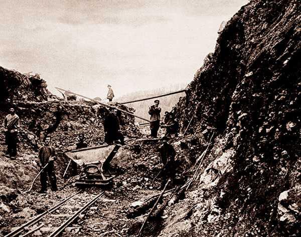 транссибирская магистраль начало строительства
