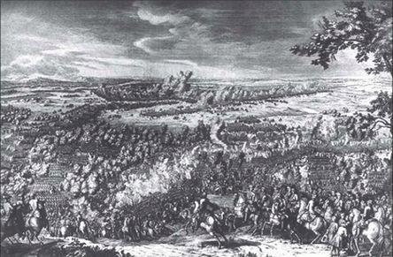 Сражение при Лесной