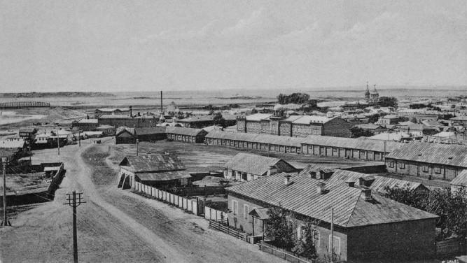 история города Оренбург