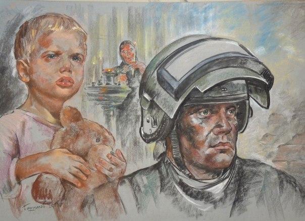 Игорь Башмаков картины