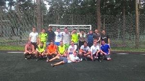 Матч по мини-футболу со сборной Грузинского культурного центра