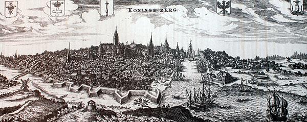 история города Калининград