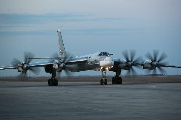 самолет ТУ 95см