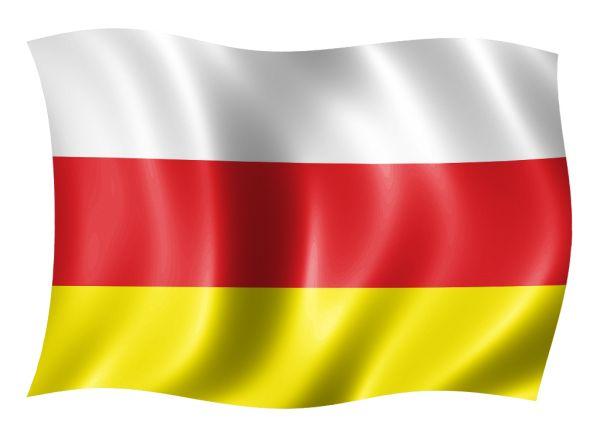 флаг Северной Осетии