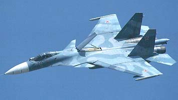 самолет СУ-33