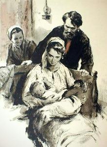 Наталья с детьми. Тихий Дон