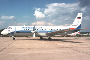 Самолет Ил 114