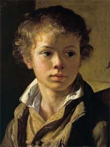 Портрет сына картина Тропинина