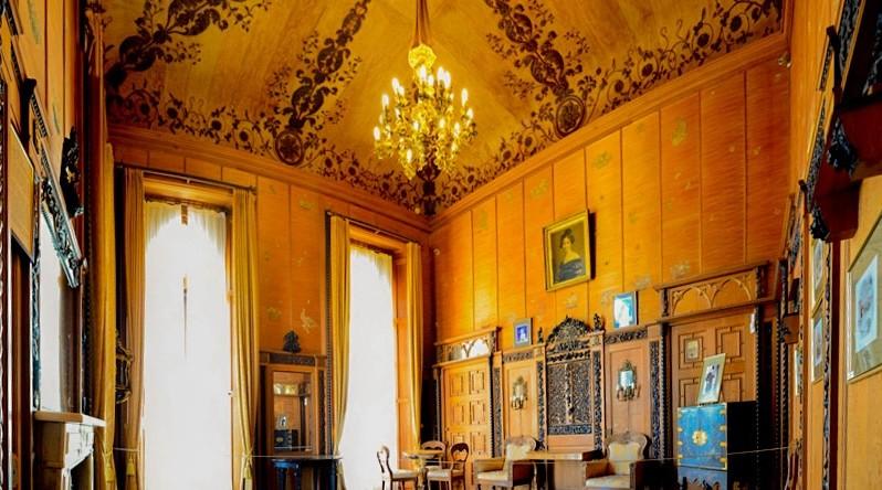 Воронцовский дворец. Алупка. Китайский кабинет
