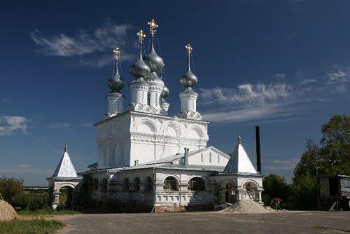 Воскресенский монастырь Муром. Воскресенская церковь