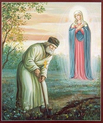 Святая Канавка Пресвятой Богородицы Дивеево