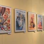 Выставка А.Коскина и его учеников