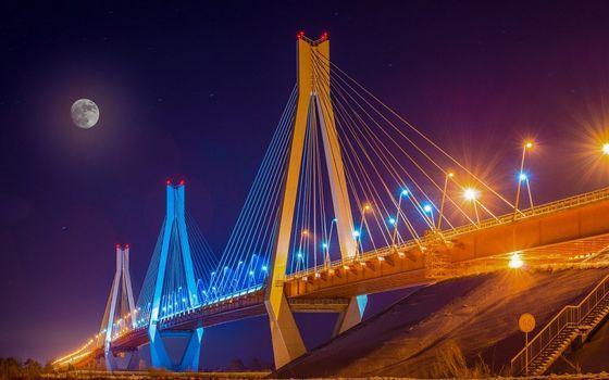 Вантовый мост через Оку