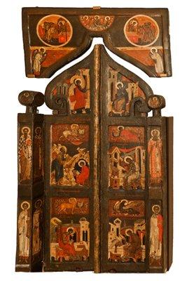 Резчик Исайя. Царские врата