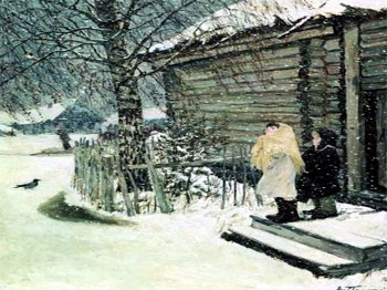 Сочинение по картине Первый снег Пластова