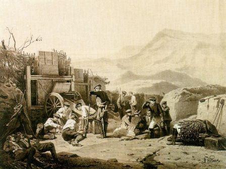 Кавказская война 1817-1864г