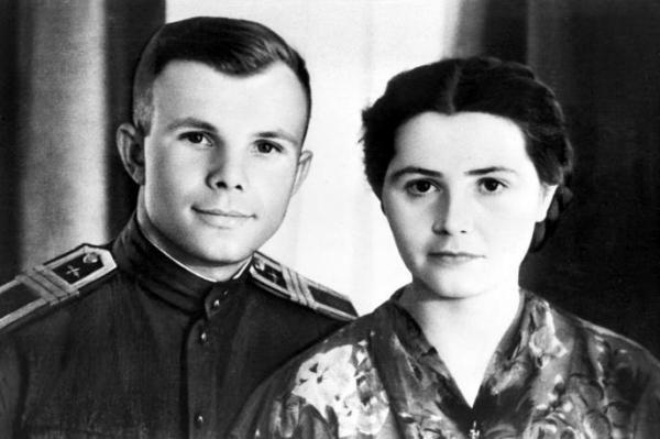 Валентина и Юрий Гагарины