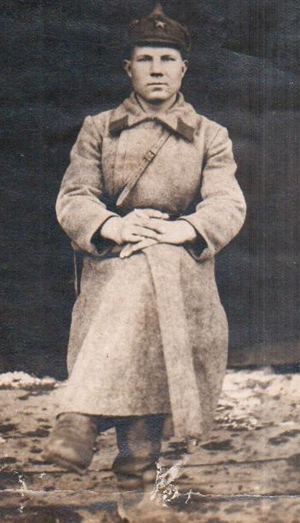 Красноармеец Цапкин Алексей Яковлевич