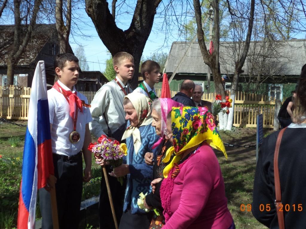праздник 70-летия Победы в поселке Земцы