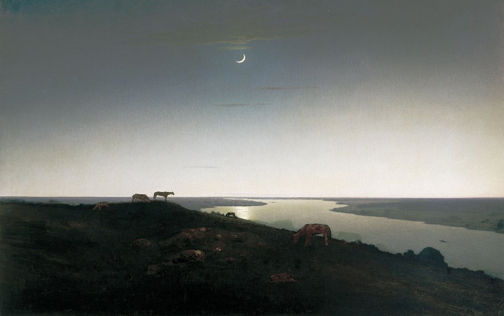 Картина Ночное Куинджи