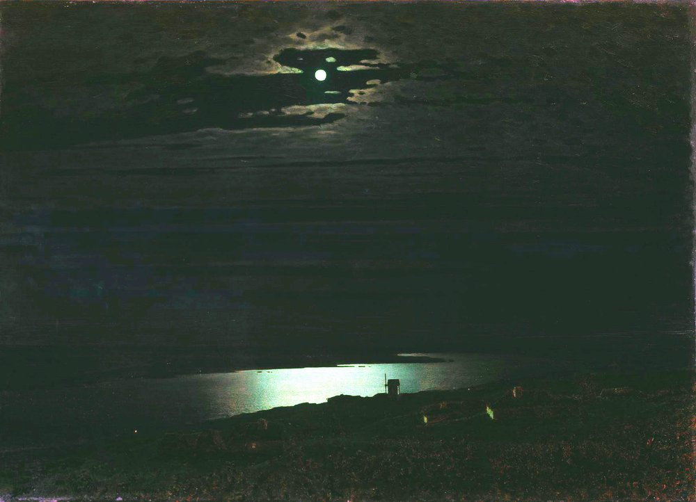 Картина Лунная ночь на Днепре Куинджи