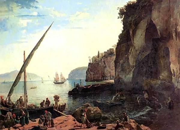 Картина Малая гавань в Сорренто близ Неаполя Щедрина