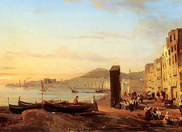 Картина Набережная в Неаполе Щедрина