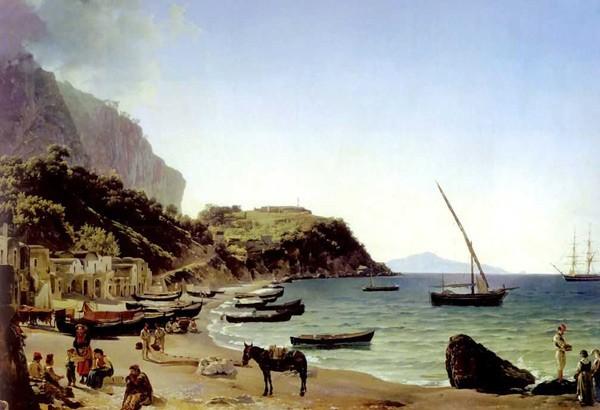 Картина Большая гавань на острове Капри Щедрина