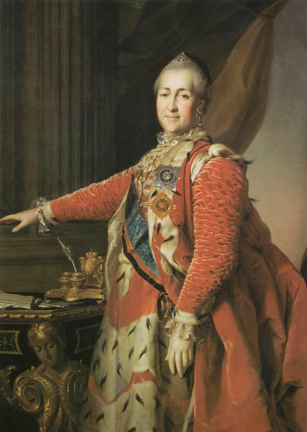 Картина Портрет Екатерины II Левицкого