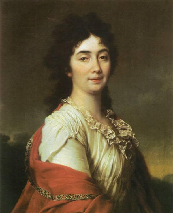 Картина Портрет А.С. Протасовой, бывшей камер-фрейлины Екатерины II Левицкого