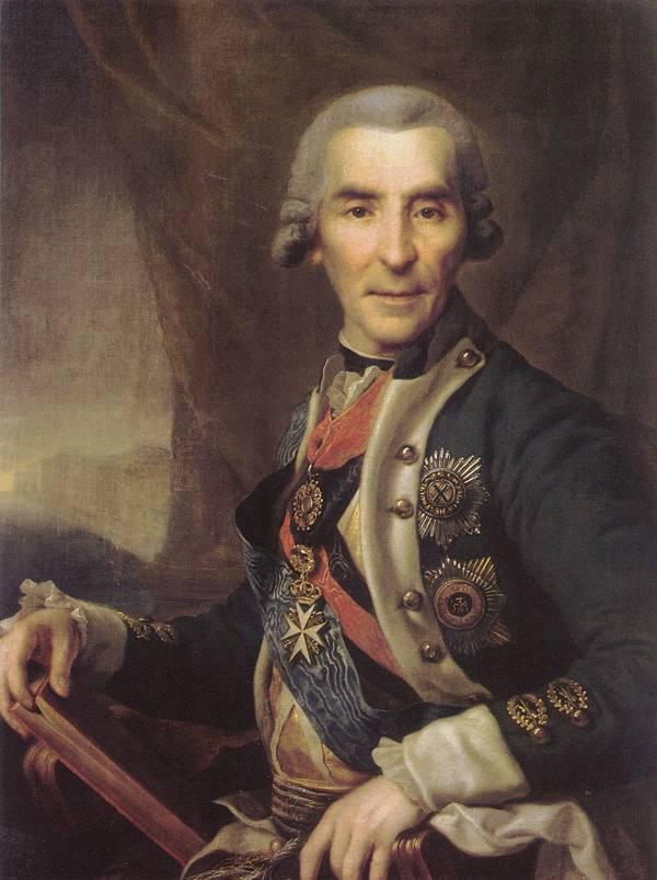 Картина Портрет И.Л. Голенищева-Кутузова Левицкого