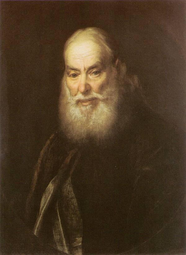 Картина Портрет священника Левицкого