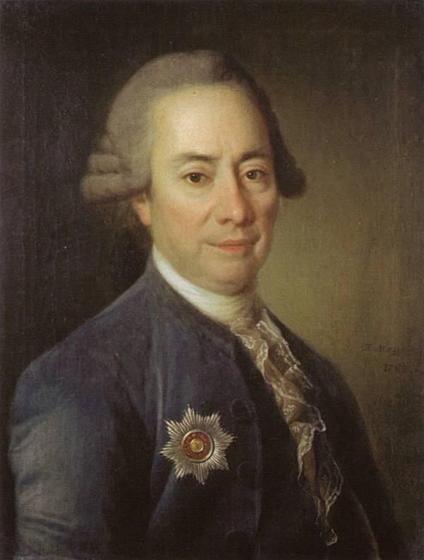 Картина Портрет П.В. Бакунина Большого Левицкого