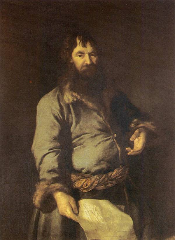Картина Портрет откупщика Н.А. Сеземова Левицкого