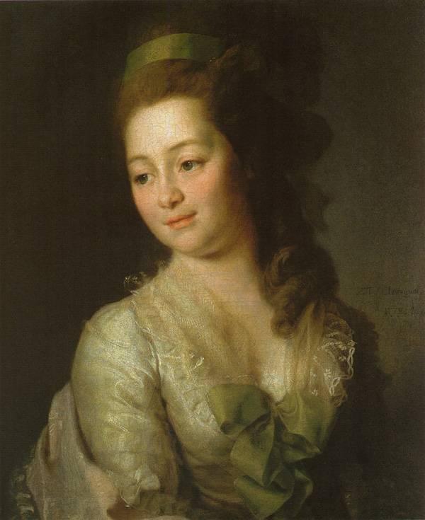 Картина Портрет М.А. Дьяковой Левицкого
